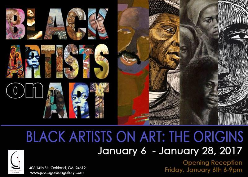 Joyce Gordon Gallery: 'Black Artists on Art: The Origins' @ Joyce Gordon Gallery | Oakland | California | United States