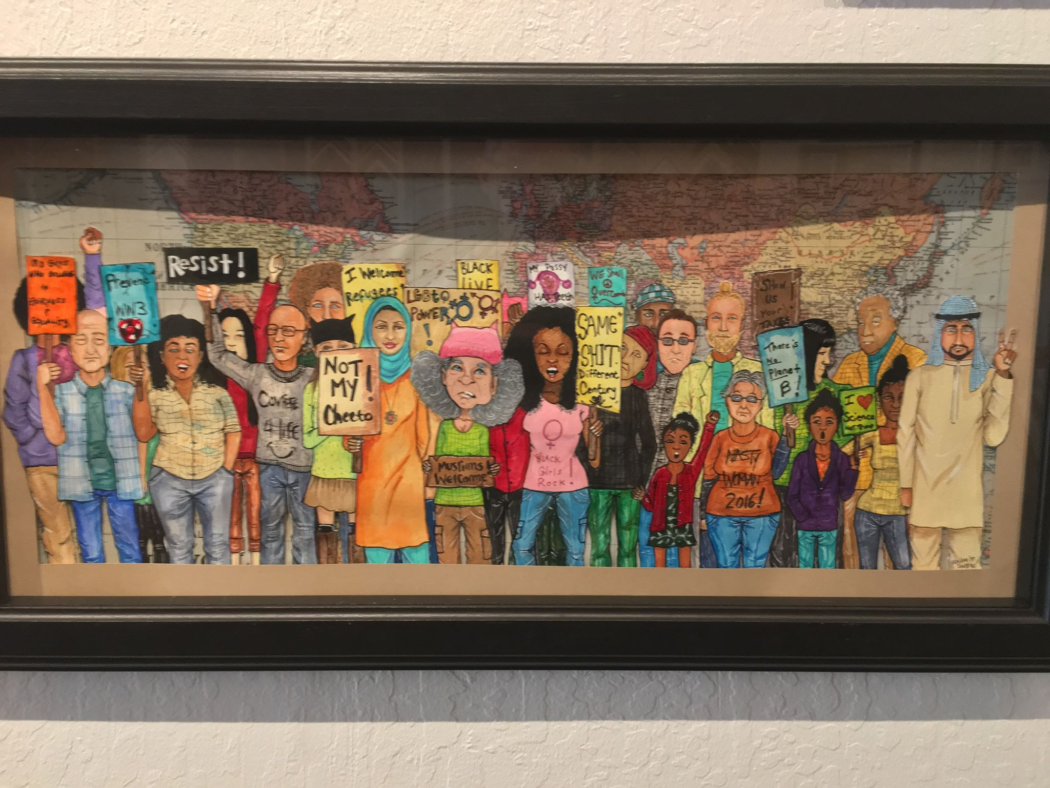 "Panorama Framing: ""Signs of Resistance"" @ Panorama Framing 