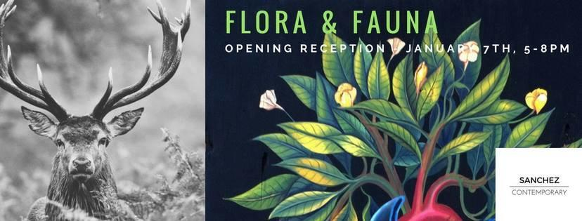 Sanchez Contemporary: 'Flora Fauna & Funk' @ Sanchez Contemporary | Oakland | California | United States