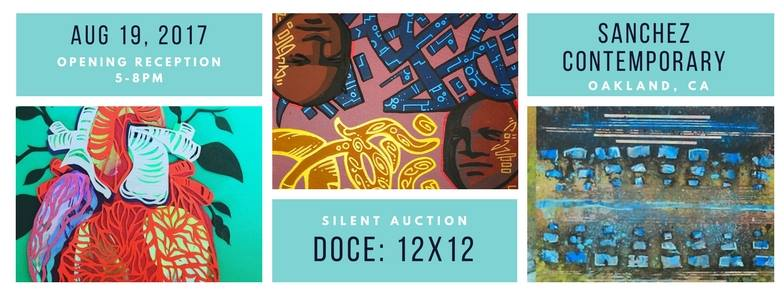 Sanchez Contemporary: DOCE 12x12 Silent Auction @ Sanchez Contemporary | Oakland | California | United States