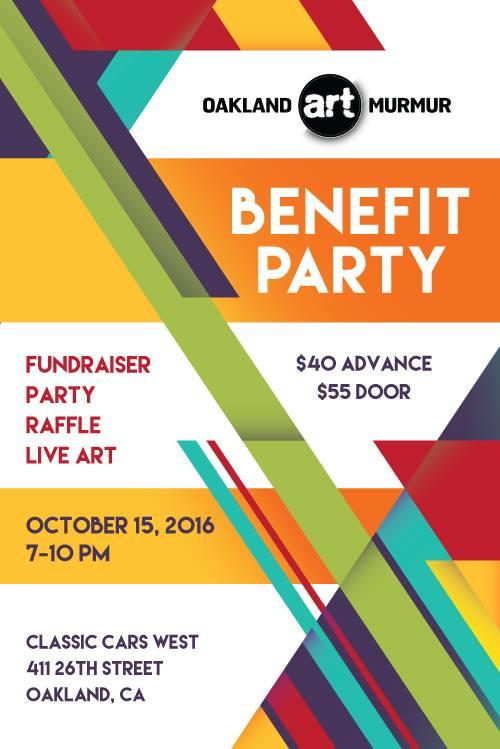 Oakland Art Murmur's 2016 Benefit Party @ Classic Cars West | Oakland | California | United States