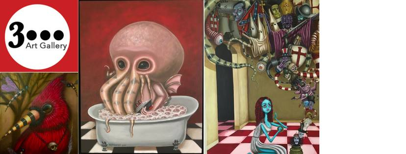 3Dot Art Gallery: Closing Reception for Raul D'Mauries @ 3Dot Art Gallery | Alameda | California | United States